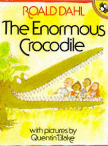 The-Enormous-Crocodile-Picture-Puffin-Roald-Dahl-Quentin-Blake-Used-Good-B