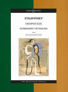 Oedipus Rex/Symphony of Psalms by Igor Stravinsky (Paperback, 1998)