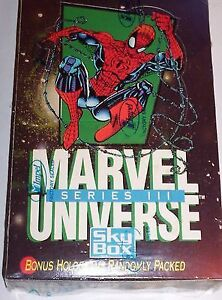 MARVEL UNIVERSE COLLECTORS VINTAGE CARD WITH HOLLIGRAMS