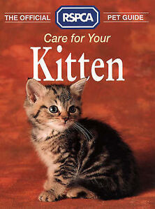 rspca the official rspca pet guide   care for your kitten