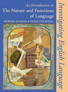 Good, An Introduction to the Nature and Functions of Language (Investigating Eng