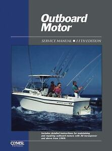 Outboard-Motor-Service-Manual-Vol-2-by-Clymer-Publications-Staff-2000