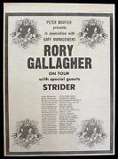 Rory Gallagher Poster