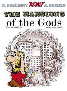 ASTERIX  THE MANSIONS OF THE GODS - BRAND NEW BOOK