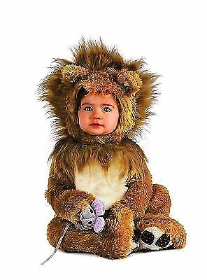 Rubies Lion Cub Animal Toddler Infant Newborn Cosplay Noahs Ark Roar - Newborn Lion Costume