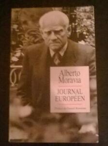 Journal européen d'Alberto Moravia