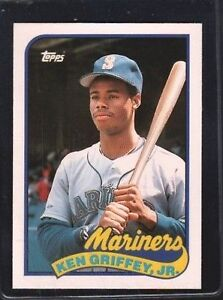 1989 Topps Ken Griffey Jr 41 Baseball Card