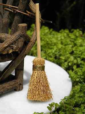 Fairy Garden Broom and Fence