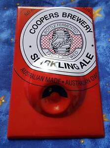 Coopers Sparkling Ale (Red) Beer Magnetic Bottle Opener Seven Hills Blacktown Area Preview