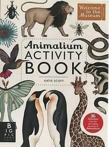 Animalium Activity Book book by Scott K and Broom J