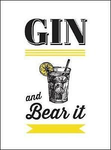 Gin and Bear it by Summersdale Publishers (Hardback, 2017)