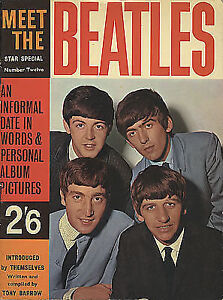 "1963 ""Meet The Beatles"" Star Special, number 12, 38pages"