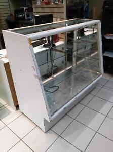 GLASS COUNTER, SHOWCASES, DISPLAYS for sale
