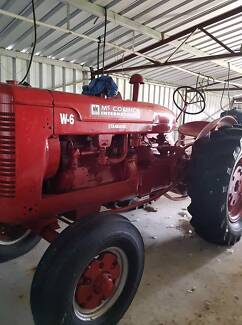 Restored Vintage Tractors