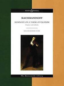 Rhapsody on a Theme of Paganini by S RACHMANINOFF (Paperback, 2003)