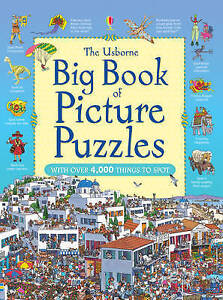 Big Book of Picture Puzzles by Usborne Publishing Ltd (Paperback, 2011)