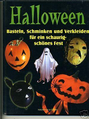 Kinderbuch-Halloween-Basteln,Schmiken verkleiden-Buch- - Halloween Basteln
