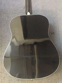 Details about Stretton Payne Grand Auditorium Electro Acoustic Guitar Black A brand new ,unused