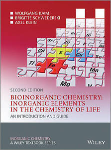 Bioinorganic Chemistry –– Inorganic Elements in the Chemistry of Lif