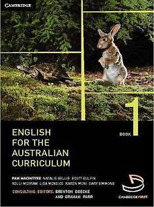 English for the Australian Curriculum Book 1 by Brenton Doecke Paperback Book