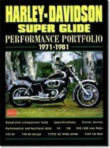 Harley Davidson Super Glide Performance Portfolio, 1971-81 by Brooklands...