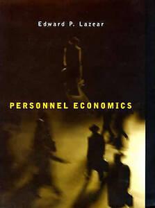 Personnel Economics, Edward Lazear