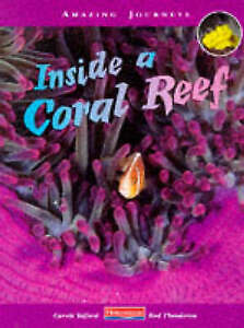 """""""VERY GOOD"""" Telford, Carole, Amazing Journeys: Inside a Coral Reef, Book"""