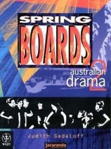 Springboards: Australian Drama 2: Australian Drama 2 by Judith Gadaloff...