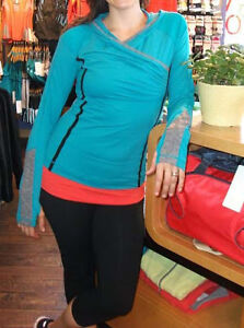 LuluLemon Cross Train Pullover, Run For Your Life LS Top Oasis 2