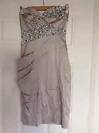 Nude sequin dress (Size 10)