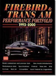 Firebird and Trans Am Performance Portfolio 1993 - 2000