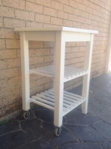 Kitchen Bakers Bench Side Table Butchers Block Ryde Ryde Area Preview