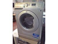 silver indesit innex 1400spin 8kg washing machine