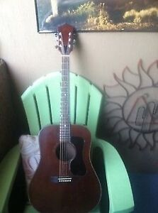 GUILD D-25M ACOUSTIC Guitar 1970s ERA VINTAGE Made In USA