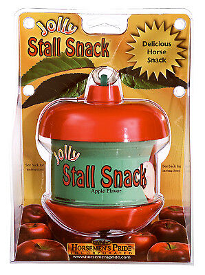 (HORSEMENS PRIDE Jolly Stall Snack With Apple Horse Treat, 2.43-Lbs. SS201)