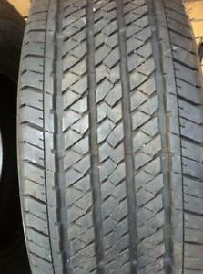 2 - Bridgestone Dueler H/T All Season Tires with Very Good Tread - 255/70 R17