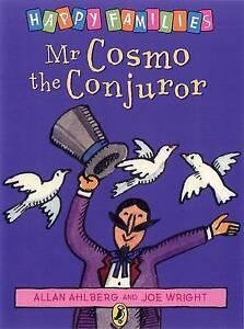 ALLAN AHLBERG, HAPPY FAMILIES. MR COSMO THE CONJUROR.