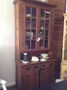 Solid Oak Flat to the Wall Cabinet