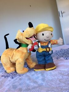Bob the Builder and Pluto dog Fig Tree Pocket Brisbane North West Preview