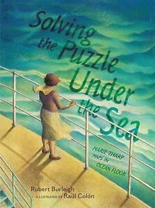 Solving Puzzle Under Sea Marie Tharp Maps Ocean Floor by Burleigh Robert