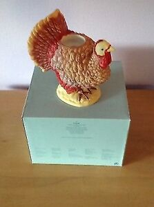 Fall Autumn Turkey Candle Holder Decoration by PartyLite