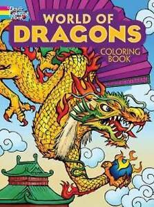 NEW World of Dragons Coloring Book (Dover Coloring Books) by Arkady Roytman