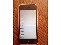 Pink iPhone 5c