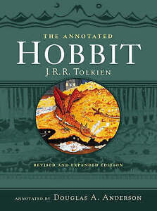 The-Annotated-Hobbit-Tolkien-J-R-R-New-Book