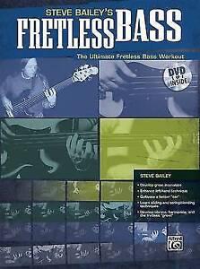 Steve-Bailey-039-s-Fretless-Bass-The-Ultimate-Fretless-Bass-Workout-Book-amp-DVD