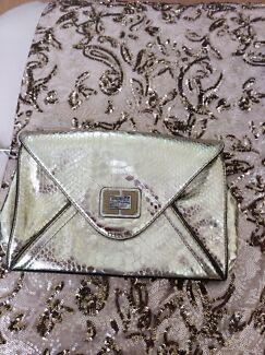 Silver guess bag