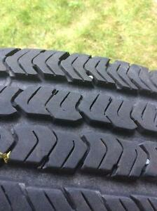 4 really new tires / 4 pneus  wrangler
