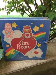 Vintage Care Bears - PVC minis and Case