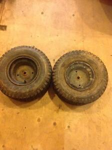 Lawn tractor tires18x8.50-8