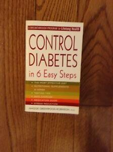 CONTROL DIABETES WITH THIS HANDY BOOK